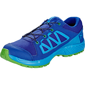 Salomon XA Elevate CSWP Shoes Barn mazarine blue wil/indigo bunting/onlime lime